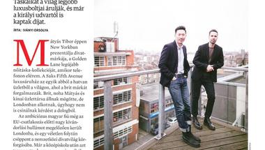 Luxustáskák zugokkal - Debütáló cikkem a magyar Forbes-ban