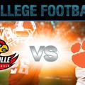 NCAA Hétfő - Clemson - Louisville