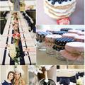 BlushBlueberry esküvői téma ღ