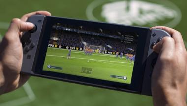 Stabil 60fps-el fut a FIFA 18 Nintendo Switch-en
