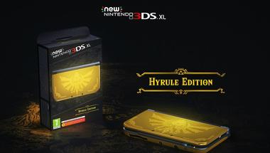 Európába érkezik a New Nintendo 3DS XL Hyrule Edition