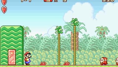 Saját magával játszik Super Mario