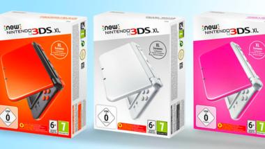 Több új színben is kapható lesz a New Nintendo 3DS XL