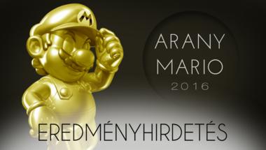 Arany Mario 2016 - Eredményhirdetés