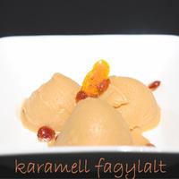 Karamell fagylalt