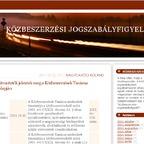 Jogalkotási program 2012. I. félév - közbeszerzéshez kapcsolodó jogszabályok