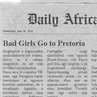 Dail(y) Africa - Nem jött be a reklám