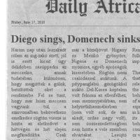 Dail(y) Africa - Higany a köbön, hülyék a kútban