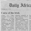 Dail(y) Africa - Légiósbetegség