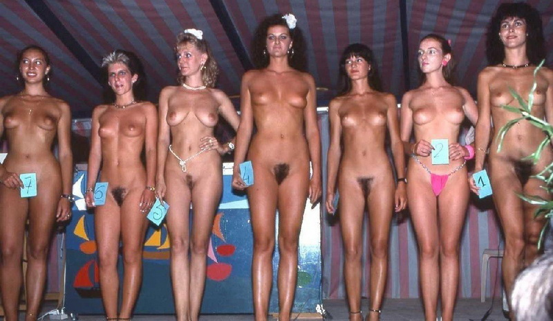 Nude women contest nudist beauty pageants