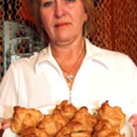 Fánkok, desszerttel