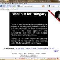 A Piratebay szolidarít - Én nem...