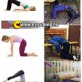 Ha sokat iszol olyan mintha jógáznál :)