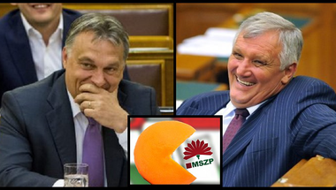 Újabb mocskos sztori bizonyítja: Orbán módszeresen vásárolja fel az MSZP-t