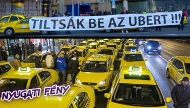 Hatalmas öngól a taxis balhé: mintha postások tüntetnének az e-mail ellen