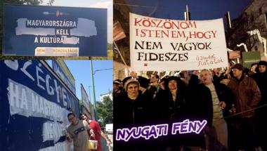Fidesz-ellenesnek lenni: büszke gyönyörűség
