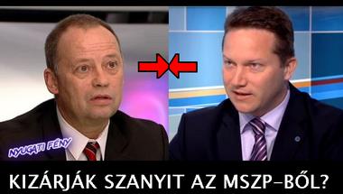 Kizárják Szanyi Tibort az MSZP-ből?
