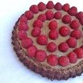 Raspberry cake - Málna torta
