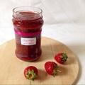 Chia strawberry jam - Chia magos eper lekvár