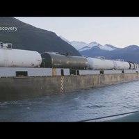 Óriásvonatok: Kanada - AquaTrain, Franciaország - LRS, USA - Schnabel vagon