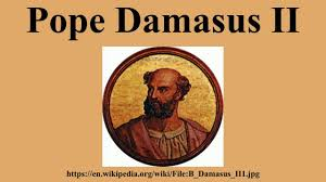 """Képtalálat a következőre: """"II. Damasus"""""""