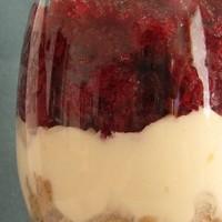 Gesztenyés pohárkrém meggygranitával (VKF! #14)