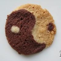 Jin-jang keksz hibiszkuszvirággal (VKF! #50)