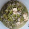 Zöld curry tofuval (VKF! #42)