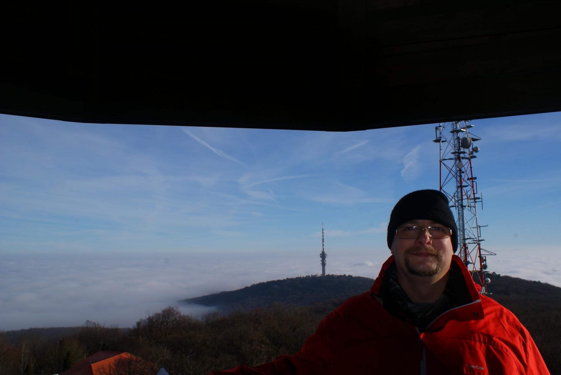 Jómagam és a TV torony a Tubesből