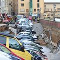 Beszakadt a part a Ponte Vecchio közelében!