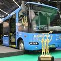 Saját lábán ment Párizsba az elektromos busz átvenni a díjat