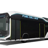 Az Olimpiára fejlesztett hidrogén buszt a Toyota