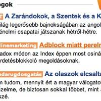 Nincs két Index.hu!