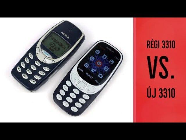 Jön az újragondolt Nokia 3310 mobiltelefon!