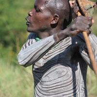 Szuri törzs, Kenya és Szudán határán I.