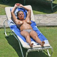 Nude Beach: Kerry Katona