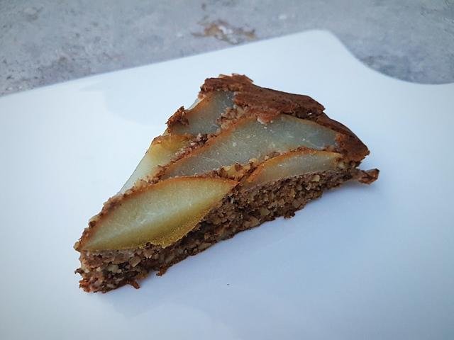 Körtés fordított sütemény (glutén- és tejmentes)