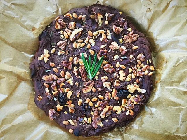 Castagnaccio - Toszkàn gesztenyetorta (paleo, vegán)