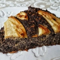 Mákos-almás sütemény (paleo)