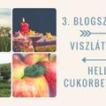 Blogszülinap #3, viszlát nyár, helló cukorbetegség