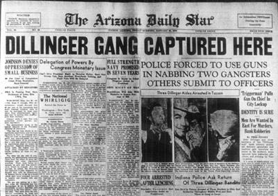Dillinger gang captured Tucson.jpg