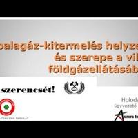 A palagáz-kitermelés helyzete és szerepe a világ földgázellátásában (előadás)