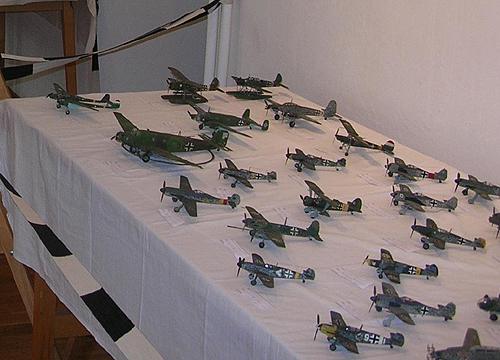 Repülőgép makettek