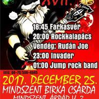 Fojtsd le a bejglit rockkoncertekkel! – 17. Rockkarácsony a mindszenti Birka Csárdában