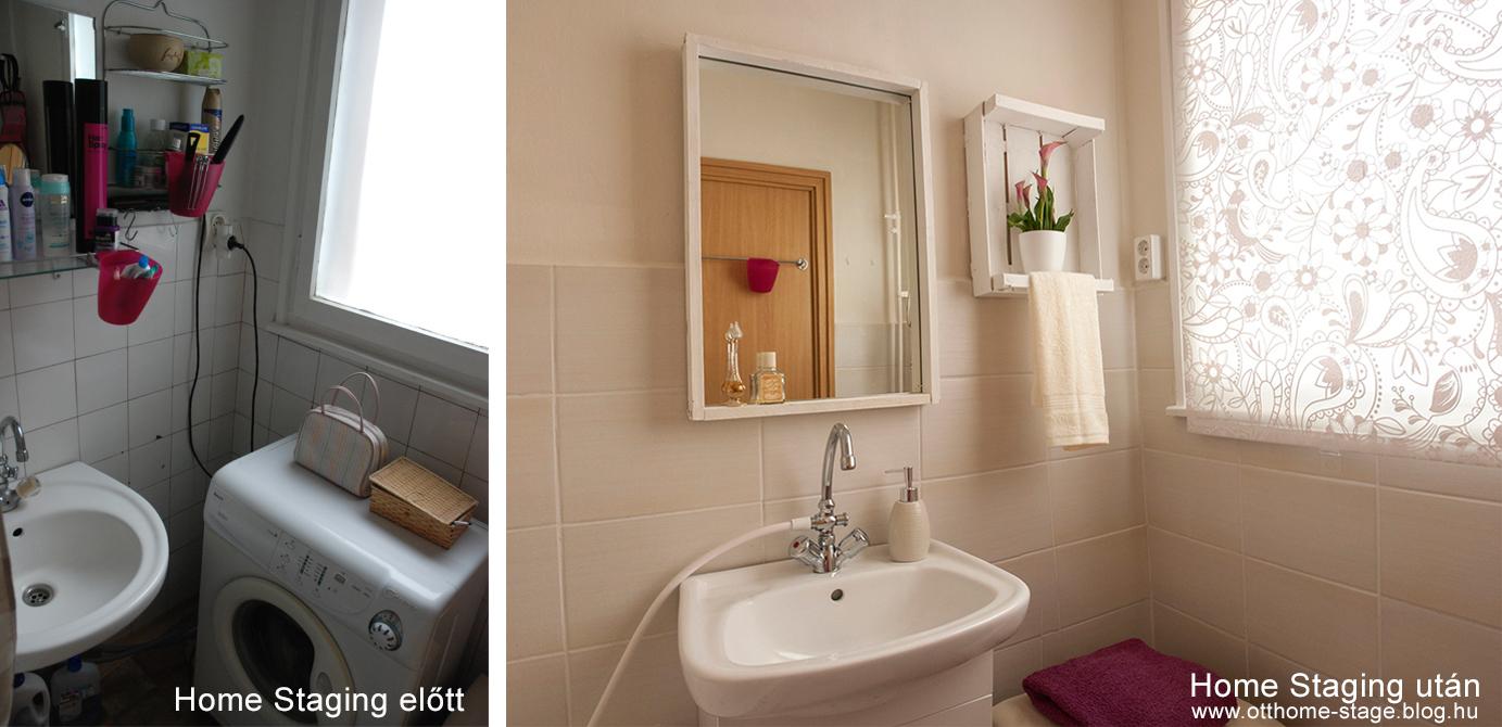 A fürdőszobában csempéztünk, tükröt készítettünk, új roló került a nagy ablakos fürdőszobára, ami az egyik nagy előnye a lakásnak.Ezt is jó kiemelni. Plusz, a szokásos elpakolás!!! Nem győzőm magam ismételni. :-) Te melyiket választanád?