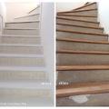 Lépcsőfelújítás, festés