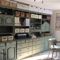 Bonanza szekrények átfestése krétafestékkel