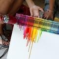 DIY: Zsírkréta installáció