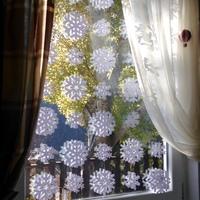 Adventi ablakdekoráció