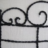 Napi inspiráció: hímzett ágytámla